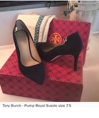 Tory Burch blue heals Chantilly