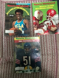 Sports Illustrated back issues