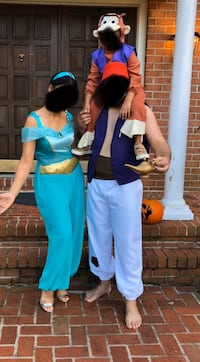 Aladdin and Princess jasmine costume for sale Great Falls, 22066