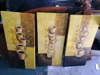 Coffee lovers painting set of 3 Toronto, M1C 4W5
