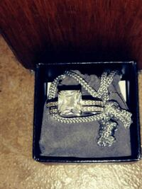 Gorgeous Engagement Ring Set Pick Up Only Gatineau, J9J 2J2