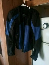 Motorcycle  jacket padded Clear Brook, 22624