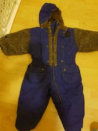 Snow suit one pc 24 mos Cornwall, K6H 2H1