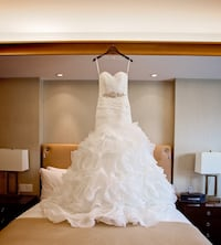 Ivory Allure Wedding Dress