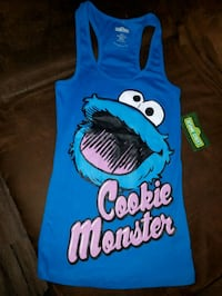 COOKIE MONSTER TANK TOP
