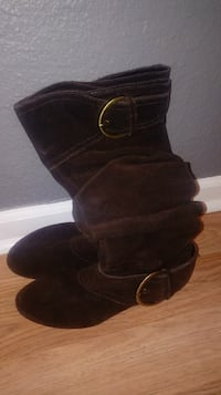 8.5 brown boots Indianapolis, 46237