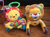 Fisher-price musical lion walker and lion ride-on toy Surrey, V3T 5V5