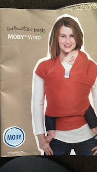 Moby wrap never used with instruction manual and carrying bag Toronto, M1J 2E7