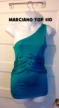MARCIANO One Shoulder Top: Size Medium  Toronto, M6G