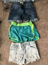 Girls shorts size 0 and 1 Eugene, 97404