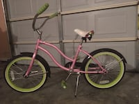 pink and green cruiser bike Fayetteville, 28314