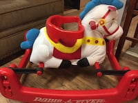 white, red and blue Radio Flyer Brookhaven, 11967