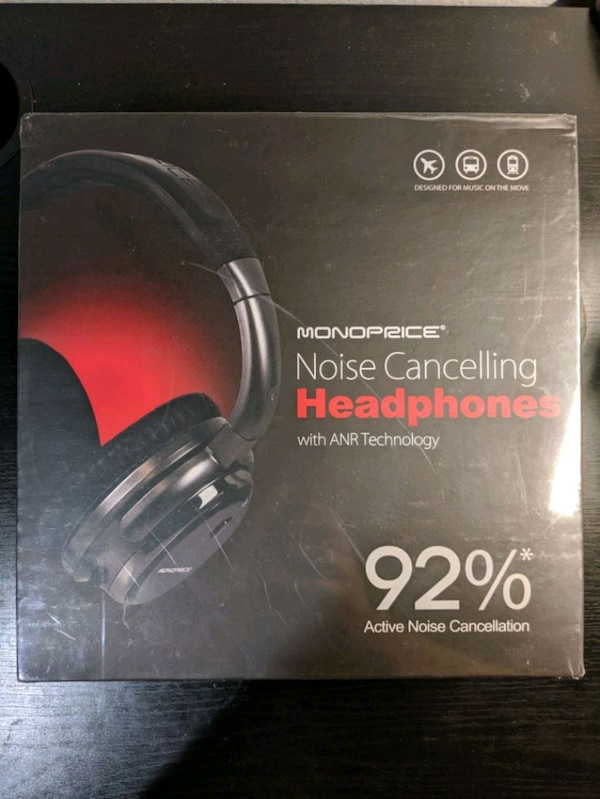 660f1805091 Used Brand New Monoprice Noise Cancelling Headphone for sale in Sunnyvale -  letgo