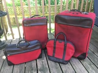 Hartmann 4-Piece Luggage / Travel Set (Real Leather) Toronto, M9A 3S9