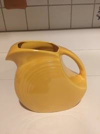 Vintage Fiestaware 1qt Juice Disk Pitcher Yellow Sunflower  Elkton, 21921