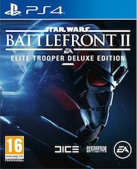 Star Wars battlefront 2 deluxe edition ps4