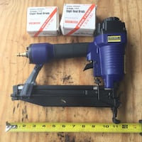 Large 16 ga. air nailer and 5000 nails Jersey City, 07307