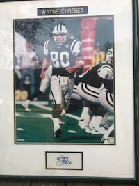 Football collectible signed
