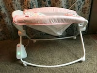 baby's white and gray bouncer Clearwater, 33759