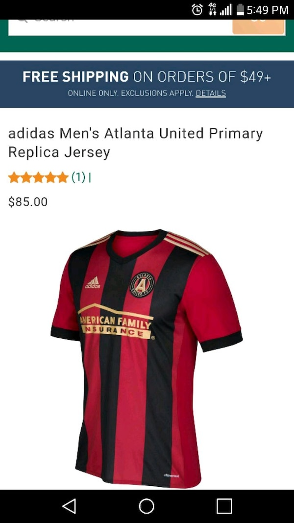 online store 8a062 53166 Atlanta United FC Jersey