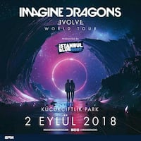 Imagine Dragons Konser Bileti Maslak, 34396