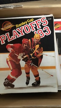 Stanley Cup Playoffs poster Vancouver, V5M 3Z4