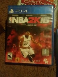 PS4 Game NBA2k16 Clovis, 88101
