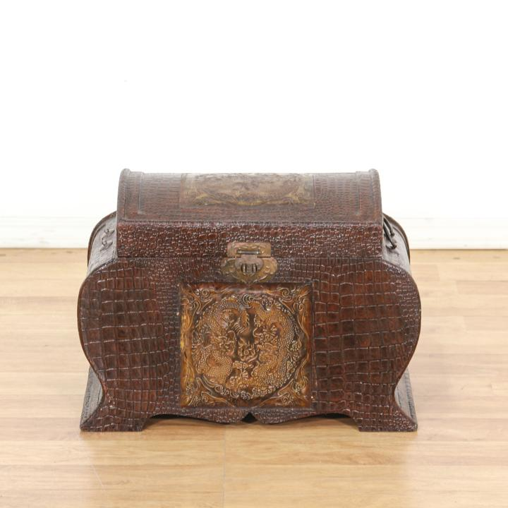 Asian Style Faux Alligator Trunk