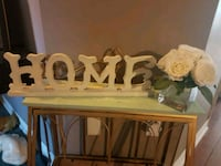Home sign. Whitby, L1N 8X2