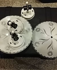 3 Ceiling light fixtures Shippensburg, 17257