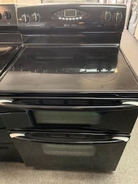 Maytag double oven black electric stove with warranty  Arlington, 22203