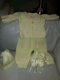 0 to 3 months baby knitting set Toronto, M1R 1N1