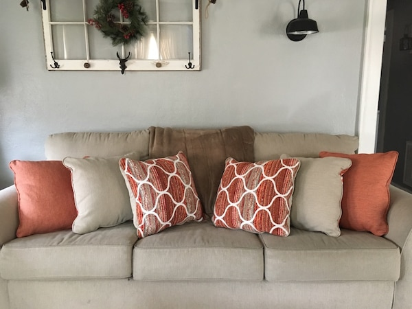 Used Brand New Ashley Furniture Throw Pillows For In Hampton