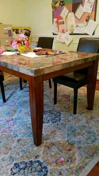 Table with 5 chairs Woodstock, 21163