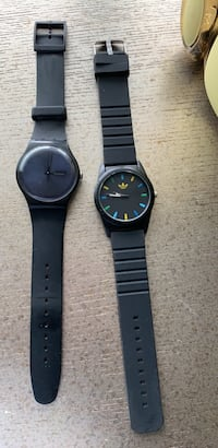 Watches! Swatch plus adidas both for $30 , but adidas needs battery  Woodbridge, 22191