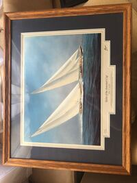 4 sailboat pictures and frames 50 each Silver Spring