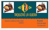 Taquizas! Mexican street style tacos catering Houston