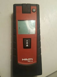 Hilti PD4 laser range meter $150 obo New Haven, 46774