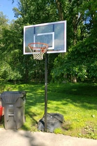 Basketball net adjustable
