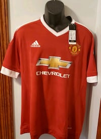 Manchester United Jersey Adidas New With Tags Middletown, 21769