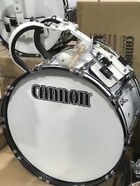 CANNON® Marching Pro Bass Drum...$269 Upper Marlboro
