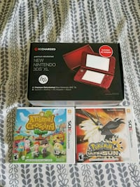 Premium Refurbished 3DS XL With Charger and Games Modesto, 95355