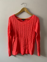 American Eagle Pink knit sweater