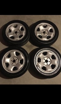 Snow tires with OEM Acura steele Rims - Almost New Brampton, L6X 0S1