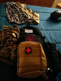 Tactical bag with med kit knife military handcuff  Prior Lake, 55372