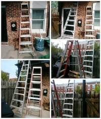 Ladders one is aluminum Baltimore, 21224