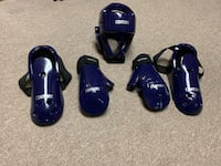 5 Piece Student (Youth) Sparring Gear Set Woodhaven, 48183