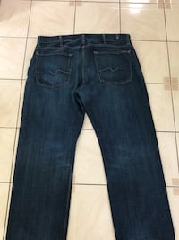 SEVEN OF MANKIND MENS JEANS SIZE 38 Toronto, M1S 2B1
