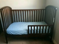 Crib with mattress and change table set Calgary, T3K