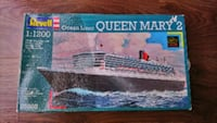 Revell Queen Mary 2 Cruise Liner 1:1200 Model Kit Yaşamkent Mahallesi, 06810